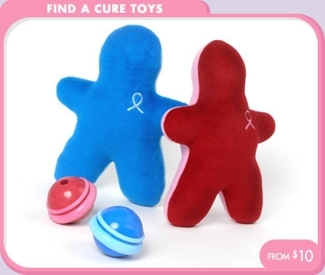 find a cure toys