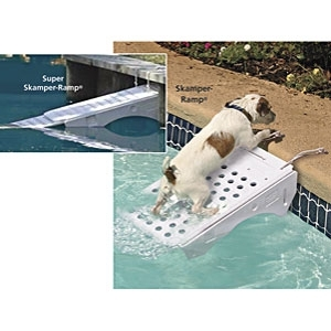 Skamper-Ramp for Pool Safety