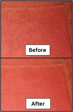 StickySheets before & after
