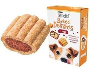 Beneful Baked Delights Hugs Dog Snacks