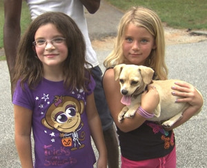 Chihuahua finds missing Georgia girls