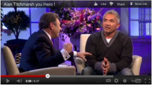 Cesar Millan blasted on British telly