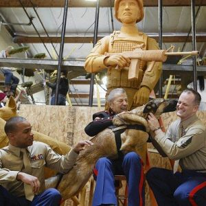 Rose Parade float to honor military working dogs