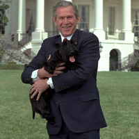 Former First Dog, Barney Bush has passed away