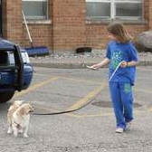 State trooper rescues little girl's dog