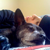 Comedienne Sarah Silverman pays loving tribute to her late dog