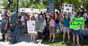 Salt Lake City dog shot by police sparks protest