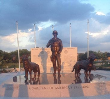 National Monument Honoring War Dogs