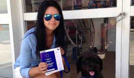 Woman Rescues Stray Dog That Saved Her From Attack While On Holiday In Greece