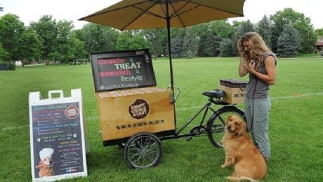 Food Cart For Dogs Delights Colorado's Canine Customers