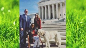 Disabled Girl & Dog Try To Sway Supreme Court Over School That Refused Service Dog