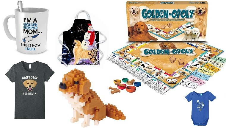 golden retriever gifts for dog lovers
