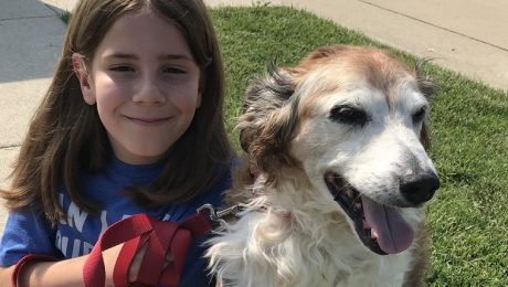 Twitter Goes Crazy For 9-Year-Old On A Mission To Pet All The Dogs