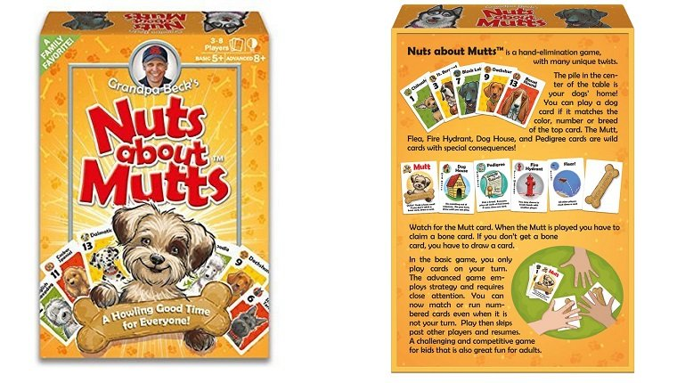 Nuts about Mutts board game