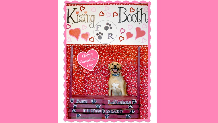 archer in valentine's day kissing booth